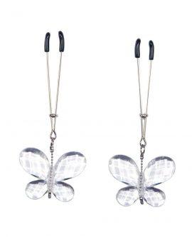 Pinzette per Capezzoli con Farfalle