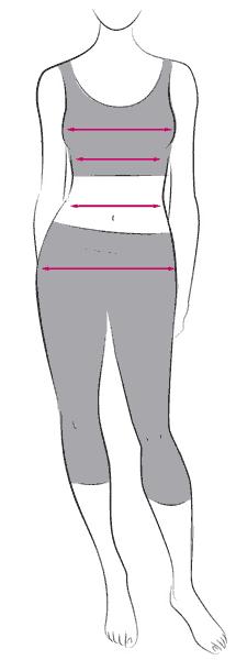 misure corpo donna