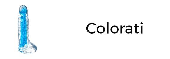 Dildo colorati e vivaci