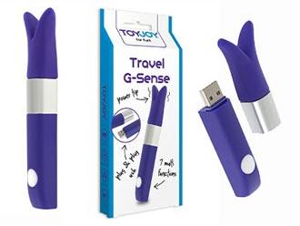 vibratore stimolatore clitoride da viaggio
